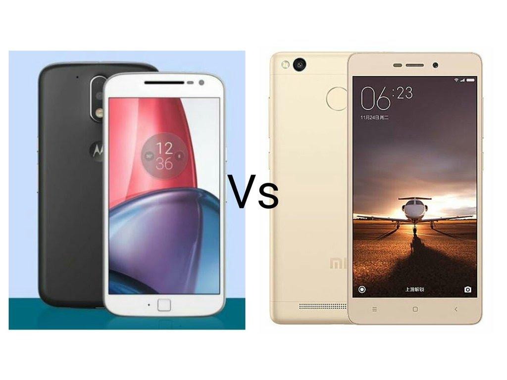 Xiaomi Note 3 vs Moto G4 Plus