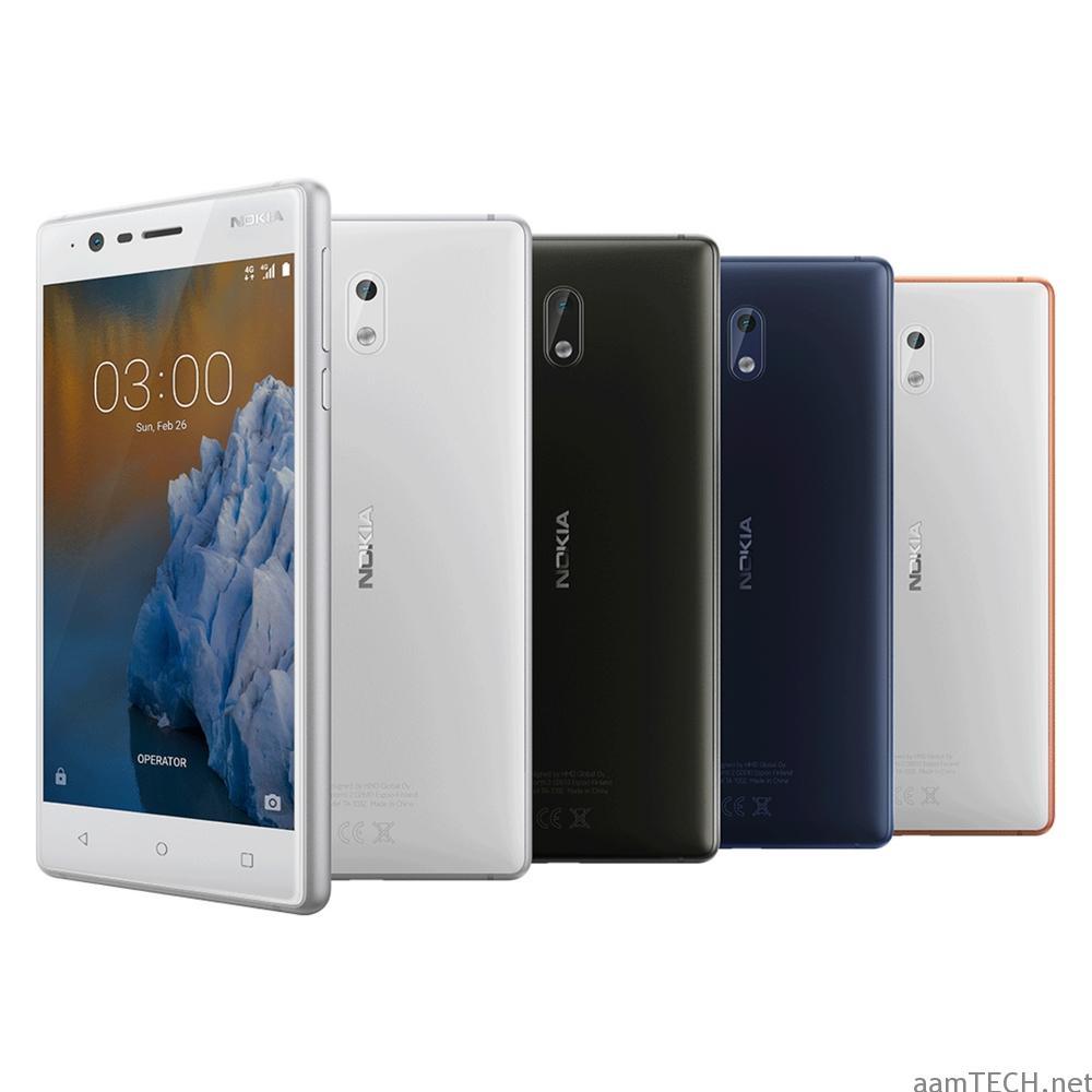Nokia 3 Color Range