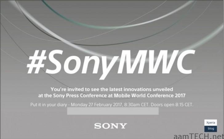 Sony MWC-2017 Invitation