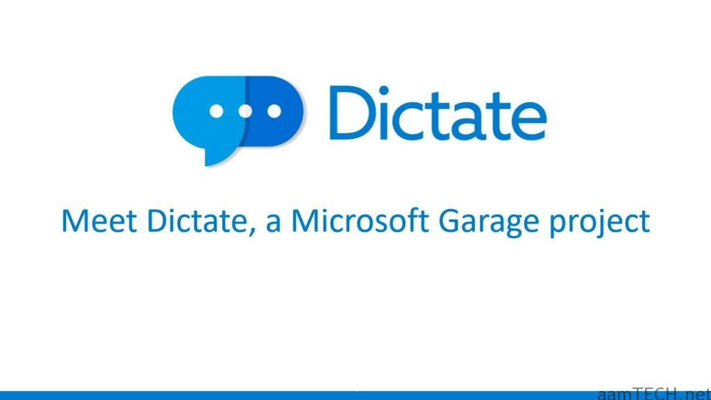 Microsoft Dictate
