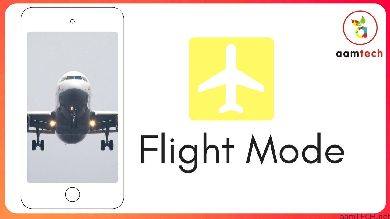 Flight Mode Uses