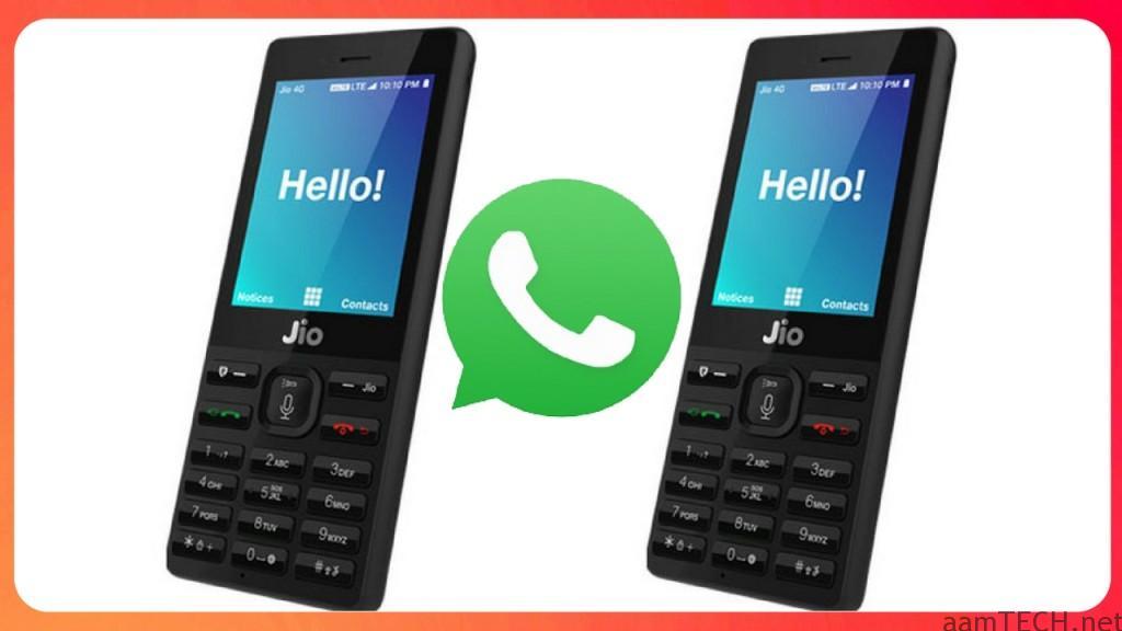WhatsApp Jio Phone