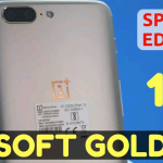 oneplus5softgold