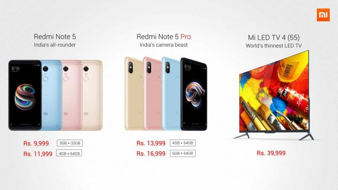 Redmi Note 5 Pro Launched