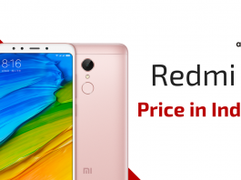 Xiaomi Redmi 5 Price and Specifications in India