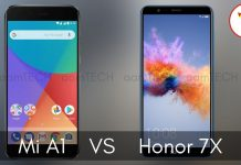 Mi A1 vs Honor 7X Which on is better