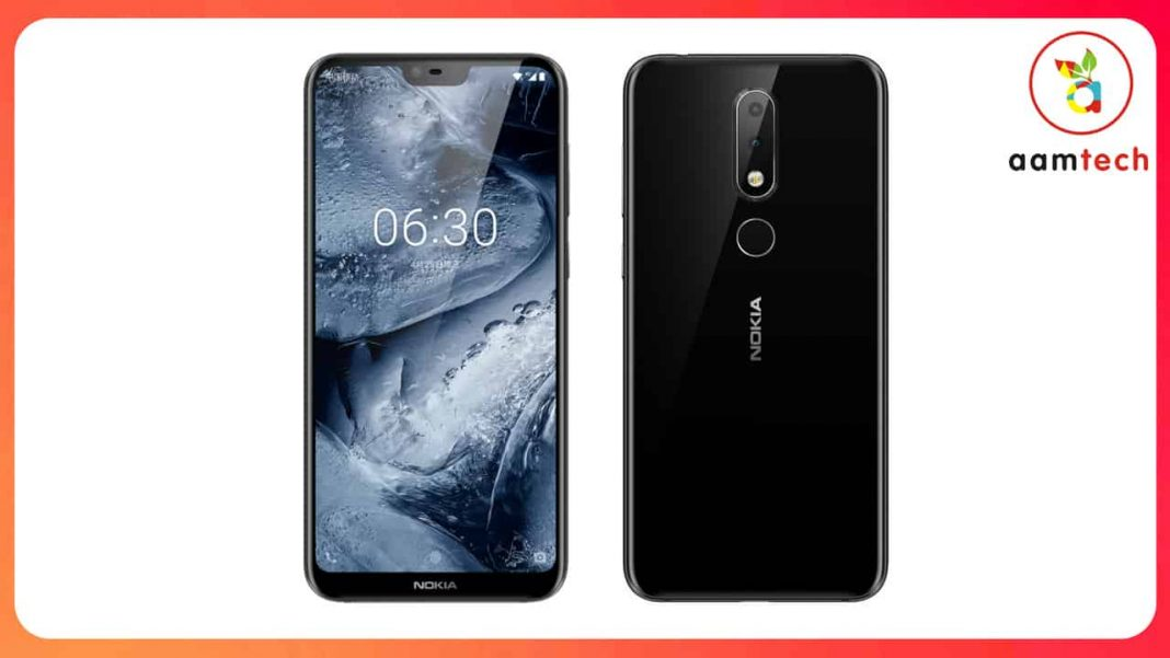Nokia 6.1 Plus Launched in india, Nokia 6.1 Plus Price Specifications in India.