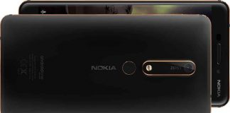 Nokia 6.1 Price, Specifications and Release Date in India