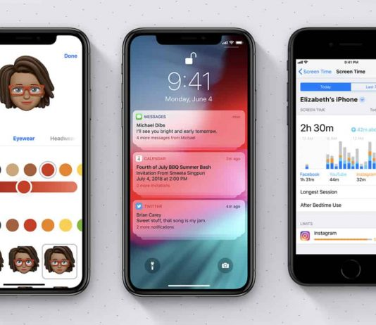 IOS 12 Applicable Devices and New features in ios 12