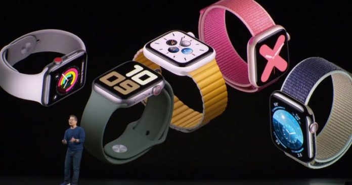 Apple Watch Series 5 Launched at a Starting price of Rs. 40,900
