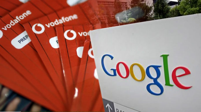 Google Eyes To Buy stakes in Vodafone India