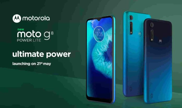 Motorola Moto G8 Power Lite Will Release in India On This Date !