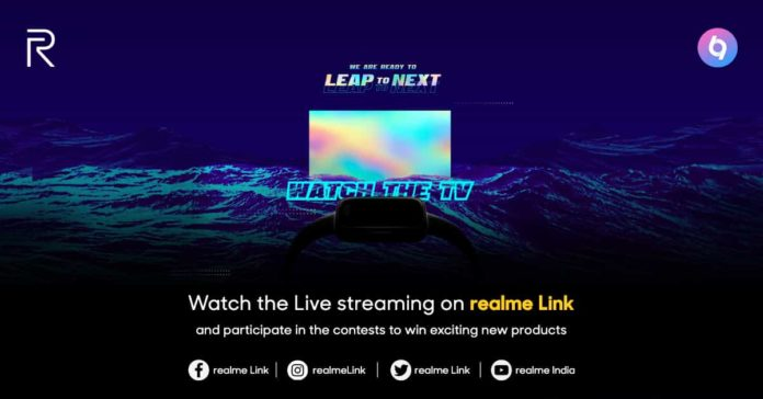Realme Set To Launch Smart TV, Smartwatch, Air Buds & Realme Powerbank Today In India