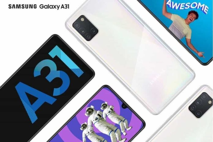 Samsung teases Key Details ahead of the launch of A31 on June 4th