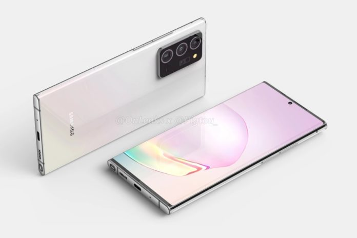 Accessories of Galaxy Note 20 reveal the Colors Options of the Flagship