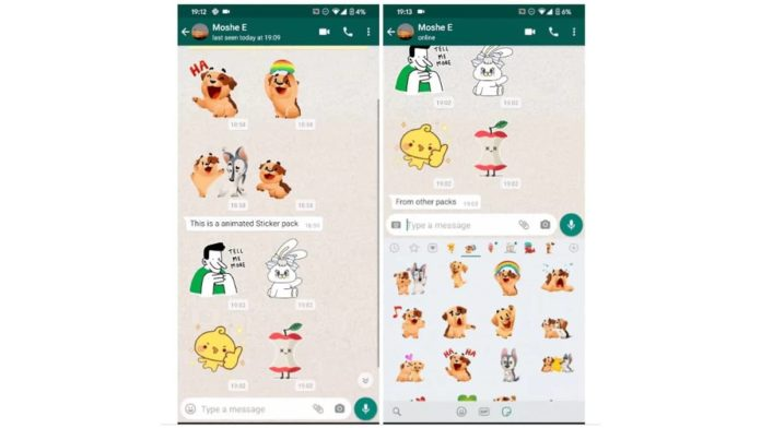 Animated Stickers is Soon going to be a Reality for Whatsapp iOS and Android Users