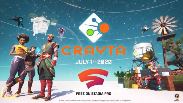 Crayta - A First On Stadia Game Can Create Own Game Worlds Using State Share