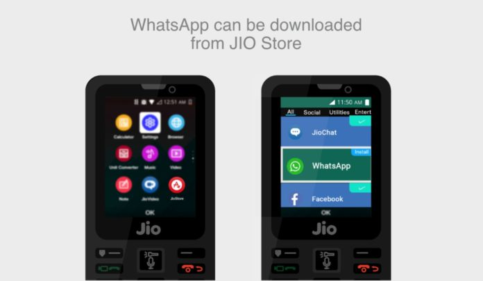 JioPhone To Get WhatsApp Status Feature With Kai OS Update