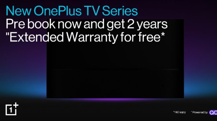 Pre-bookings of OnePlus TV Open on Amazon India, with Free Extended Warranty Offer