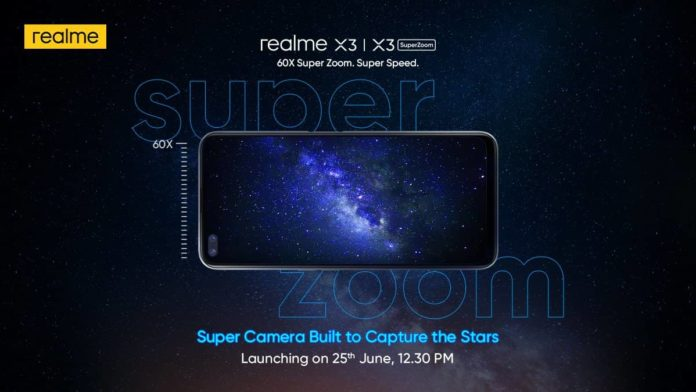 Realme X3 and Realme X3 Superzoom to be Launched in India as Flipkart Exclusive on June 25