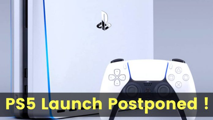 Sony PS5 Launch Event Postponed, New launch date to be announced