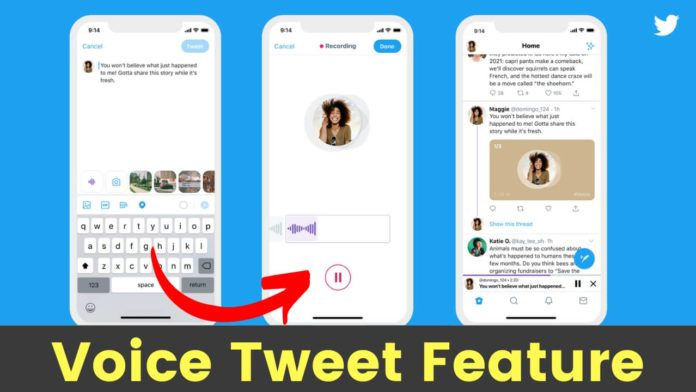 Twitter Roll Out Voice Tweet Feature for a limited number of iOS users