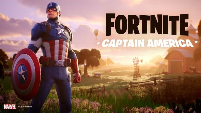 Epic Games adds Captain America to Fortnite on the occasion of July 4th