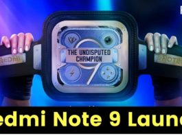 Redmi Note 9 To Launch in India on 20th July