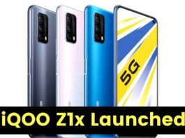 Vivo iQOO Z1X 5G With Snapdragon 765G SoC and 120Hz Display Launched in China