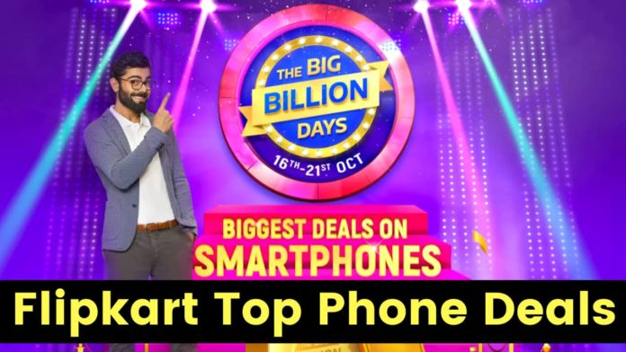 Top Phone Deals From Flipkart Big Billion Days Sale