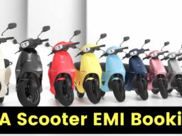 OLA Scooter EMI Plans Explained in Details