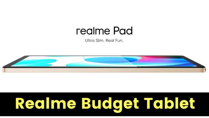 Realme Launches New Tablet Realme Pad At Rs. 15,999